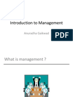 Chapter 1 - Introduction to Management IOM