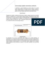 Componentes electrónicos análogos y digitales