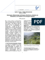 Curso Regional Hidrologia