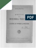 Directive pentru Întocmirea Proiectelor la lucrările de pepiniere şi împăduriri