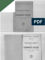 Procedee simple pentru determinarea rocilor