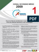 Prova ENEM 2009 Fraude 1° dia Prof. Marco Aurelio Gondim [www.marcoaurelio.tk]
