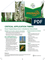 2013 Prosaro® Critical Application Timing in Wheat