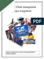 Brandix SCM -Major Assignment