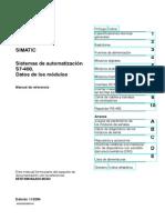 S7-400_Datos de los módulos