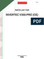v350 Lista de Partes