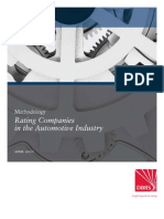 Rating Companies in the Automotive Industry