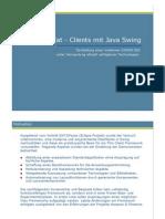 Fat - Clients mit Java Swing