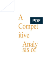 001 a Competitive Analysis Busines
