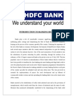 A Study on Financial Performance of HDFC Bank