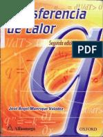 Transferencia De Calor, Segunda Edición [Manrique]