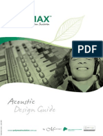 Polymax Accoustic Design Guide