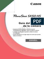 Gia de Usuario de La Camara - Pw Sx50 Hs - Canon -Pssx50hs-Cug-es
