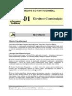 Direito e Constituição - Resumo