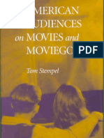 Tom Stempel American Audiences on Movies and Moviegoing 2001