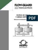Filtros de Grava y Arena Instalacion y Operacion