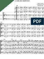 Luar do Sertão partitura