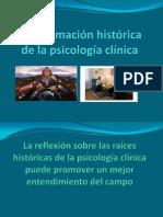 Aproximación histórica de la psicología clínica