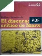 El Discuros Critico de Marx