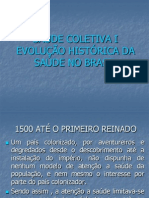 Aula 1- Evolução histórica e políticas de saúde.