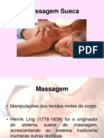 Massagem Sueca Apresentacao Ppt