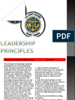Leadership Principles