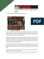 05-02-2014 Sexenio Puebla - Moreno Valle y Peña Nieto en el 97 Aniversario de la Constitución