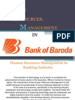 Project on Hrm in Bank of Baroda