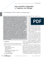 Advanced Functional Materials Volume 19 Issue 19 2009 [Doi 10.1002%2Fadfm.200900865] Chaenyung Cha; Richie H. Kohman; Hyunjoon Kong -- Biodegradable Polymer Crosslinker- Independent Control of Stiffness, Toughne