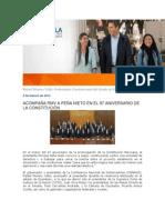 05-02-2014 Blog Rafael Moreno Valle - ACOMPAÑA RMV A PEÑA NIETO EN EL 97 ANIVERSARIO DE LA CONSTITUCIÓN