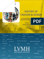 A Presentation on the Luxury Fashion Conglomerate – LVMH by:
