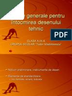 Norme Generale de Desen Tehnic