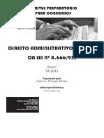 Administrativo - Artigo 24 Lei 8666