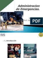 ADMInistracion Emergencias