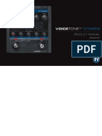 VoiceTone Create Manual FR