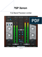 PSP Xenon Operation Manual
