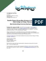 Blue Scholars Release LCC Show Portland Show 2 1 08