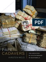 Paper Cadavers by Kirsten Weld