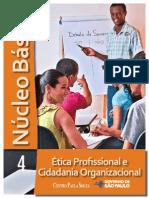 apostila - NÚCLEO BÁSICO VOL.4 - ÉTICA PROFISSIONAL E CIDADANIA ORGANIZACIONAL