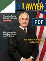 SFVBA Names Hon. Richard H. Kirschner Judge of the Year