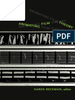 Animating Film Theory edited by Karen Beckman
