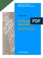 E-book Raciocínio Lógico Quantitativo