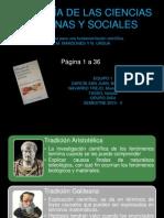 Filosofía de las Ciencias Humanas y Sociales. Mardones