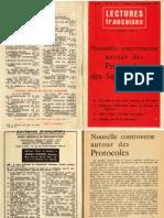 Lectures Françaises - Nouvelle controverse autour des protocoles des sages de sion