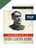 Ramiro Ledesma Antologia