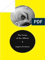 The Forms of the Affects by Eugenie Brinkema