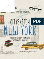 CitySketch New York City by Melissa Wood