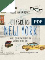 CitySketch New York City by Melissa Wood