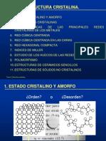 Tema 2. Estructura Cristalina