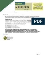 HS Friday Bulletin 10.2.09